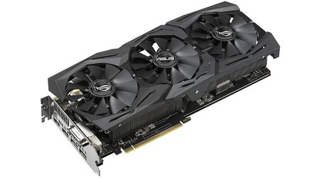 Asus Geforce GTX 1070 Ti ROG Strix Advanced - Leiser Kühler und OC-Profile