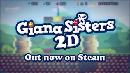 Giana Sisters 2D - Gameplay-Trailer