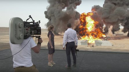 James Bond: Spectre - Making-of: Größte Explosion in der Filmgeschichte