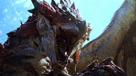 Monster Hunter World - Zweikampf mit Godzilla