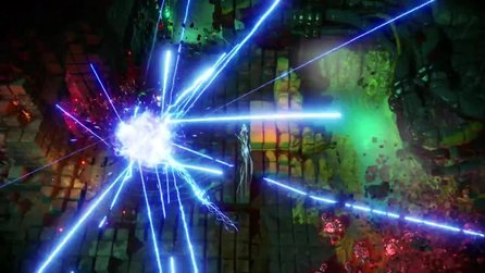 Nex Machina - PC-Ankündigungstrailer zum Dualstick-Shooter der Resogun-Macher
