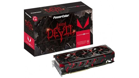 Powercolor RX Vega 64 Red Devil - Drei BIOS-Versionen mit gleichen Taktraten