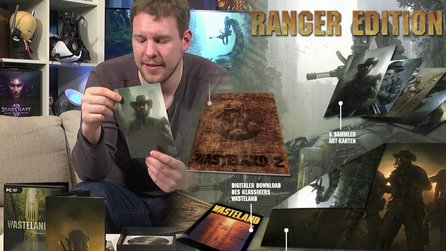 Wasteland 2 - Unboxing-Video zur Ranger Edition