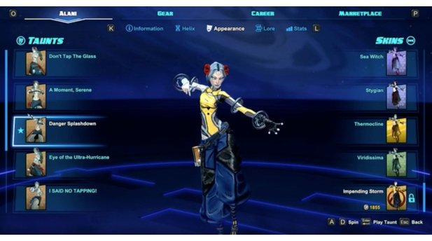 Borderlands in Battleborn