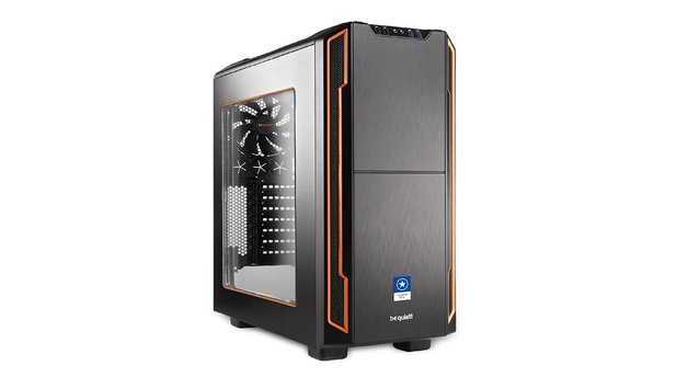 One GameStar-PC Ultra Plus mit be quiet! Silent Base 600