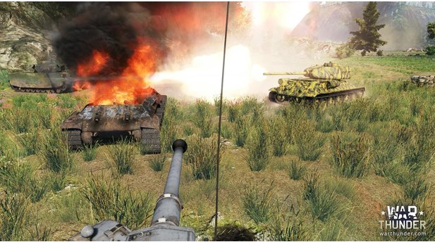 <b>War Thunder</b><br/>Screenshots aus der Erweiterung »Ground Forces«