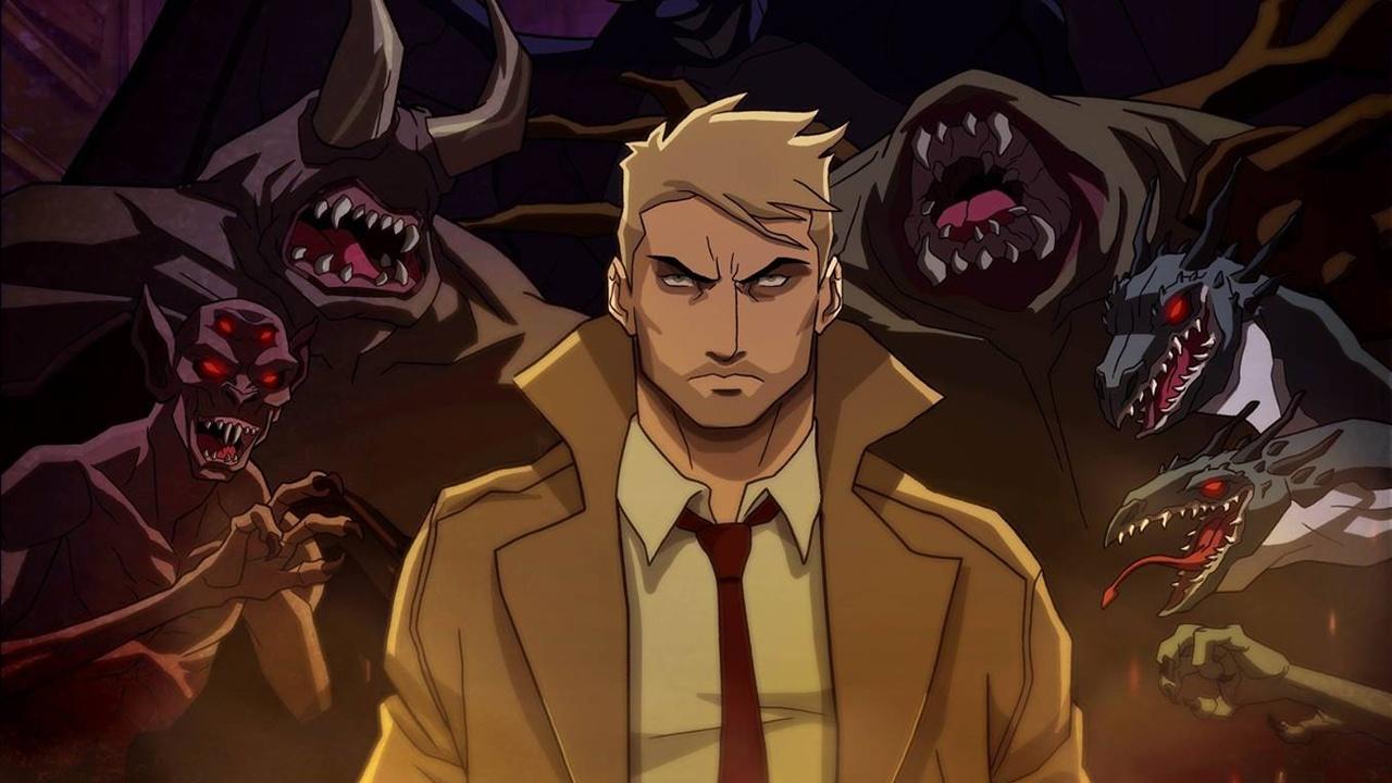 Constantine - Trailer wirft ersten Blick auf die neue düstere DC-Animationsserie - GameStar