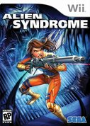 Cover zu Alien Syndrome - Wii