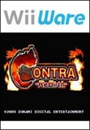 Cover zu Contra Rebirth - Wii