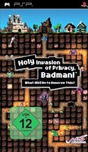 Cover zu Holy Invasion of Privacy, Badman! What Did I Do To Deserve This? - PSP