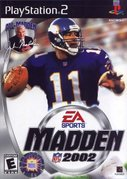 Cover zu Madden NFL 2002 - PlayStation 2