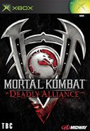 Cover zu Mortal Kombat: Deadly Alliance - Xbox