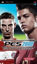 Cover zu Pro Evolution Soccer 2008 - PSP