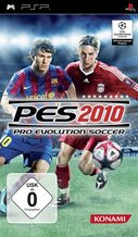 Cover zu Pro Evolution Soccer 2010 - PSP