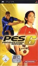 Cover zu Pro Evolution Soccer 6 - PSP