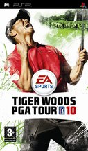 Cover zu Tiger Woods PGA Tour 10 - PSP