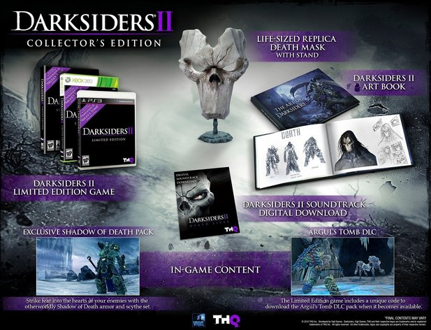 Sehr begeehrt: die Darksiders 2 Collector's Edition