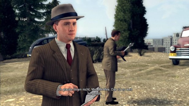 Cole Phelps ist der Protagonist in L.A. Noire.