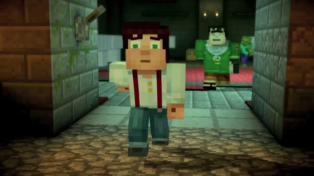 Minecraft: Story Mode - Trailer zu »Episode 3 - The Last Place You Look«