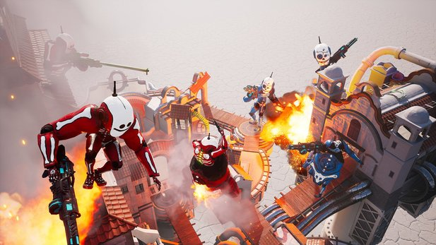 Morphies Law - Gameplay-Trailer stellt innovatives Shooter-Prinzip für Nintendo Switch vor