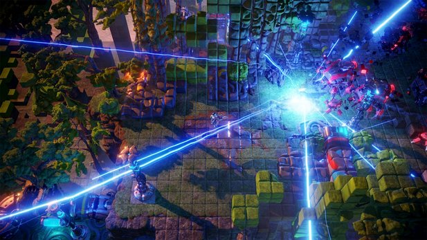 Nex Machina - Top-Down-Shooter der Resogun-Macher im PSX 2016-Trailer