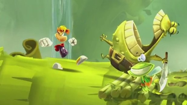 Rayman Legends - Gameplay-Trailer zur ersten Demo des Jump&Runs