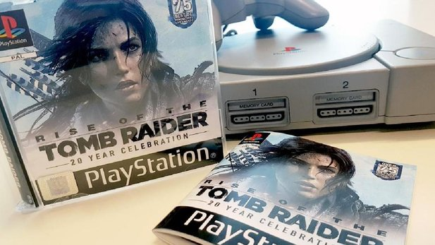 Rise of the Tomb Raider in der Retro-Verpackung