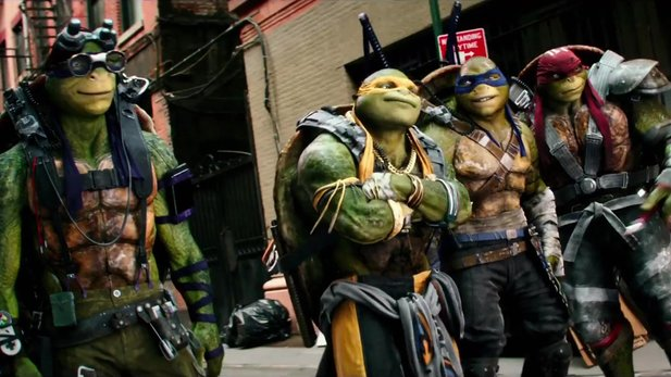 Teenage Mutant Ninja Turtles: Out of the Shadows - Erster Kino-Trailer mit Megan Fox und Tyler Perry