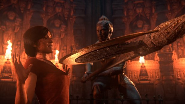 Uncharted: The Lost Legacy - Intensiver Launchtrailer schickt Chloe und Nadine ins Abenteuer