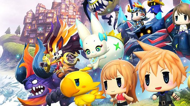 World of Final Fantasy vereint FF in Chibi-Optik und Pokémon.