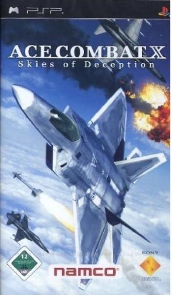 Cover zu Ace Combat X: Skies of Deception