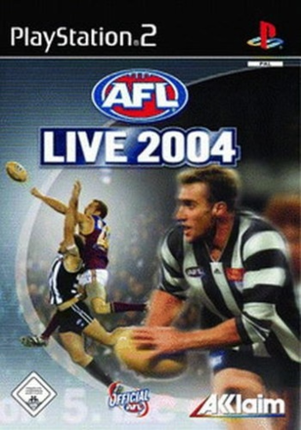 Cover zu AFL Live 2004