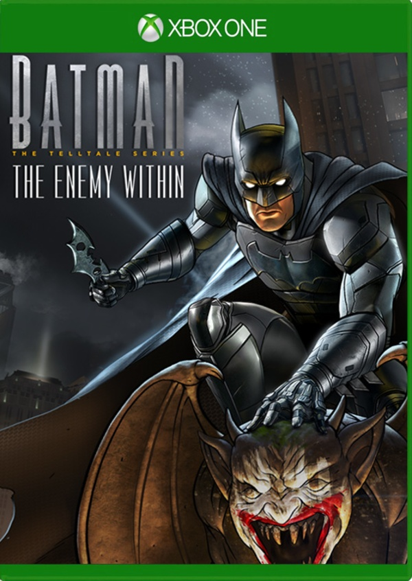 Cover zu Batman: The Enemy Within