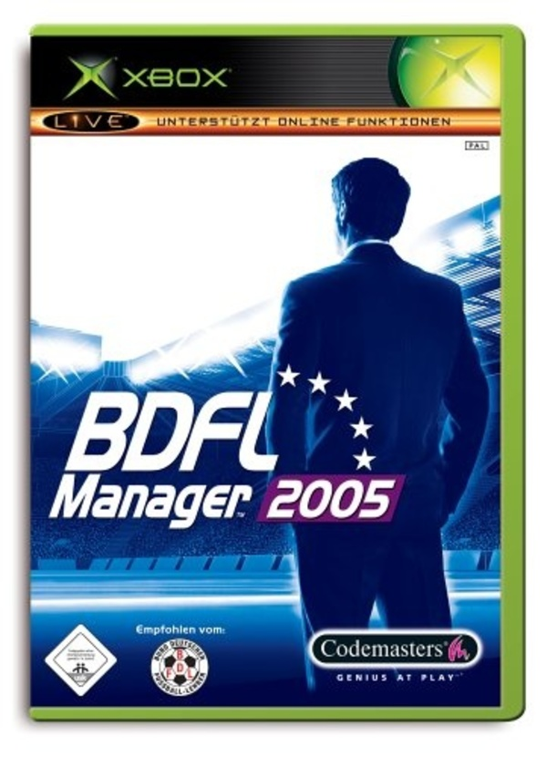 Cover zu BDFL Manager 2005