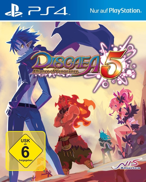 Cover zu Disgaea 5: Alliance of Vengeance