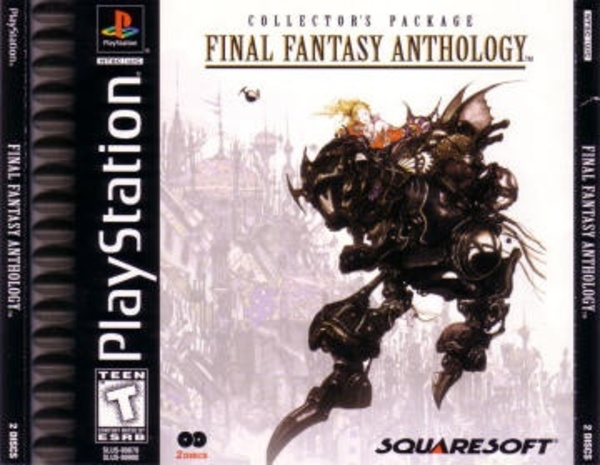 Cover zu Final Fantasy Anthology