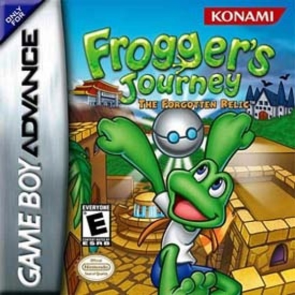 Cover zu Frogger's Journey: The Forgotten Relic