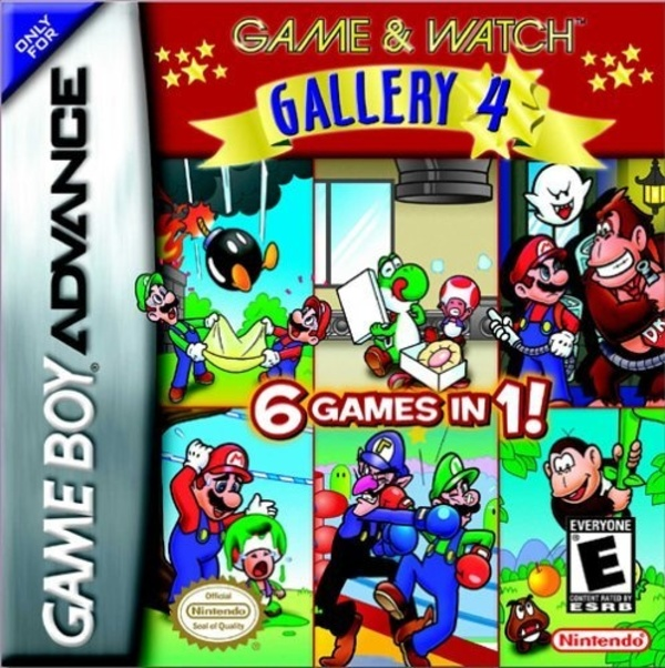 Cover zu Game & Watch Gallery 4