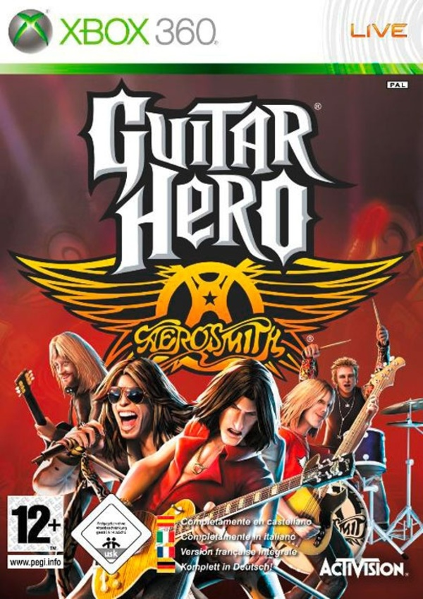 Cover zu Guitar Hero: Aerosmith