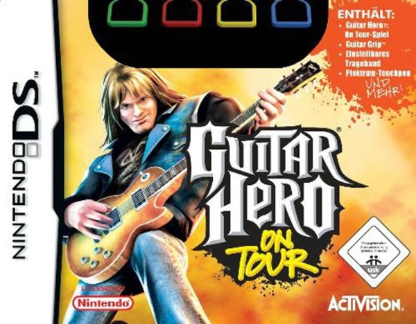 Cover zu Guitar Hero: On Tour