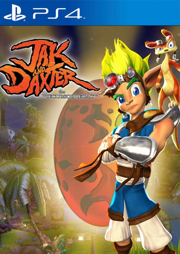 Cover zu Jak and Daxter: The Precursor Legacy