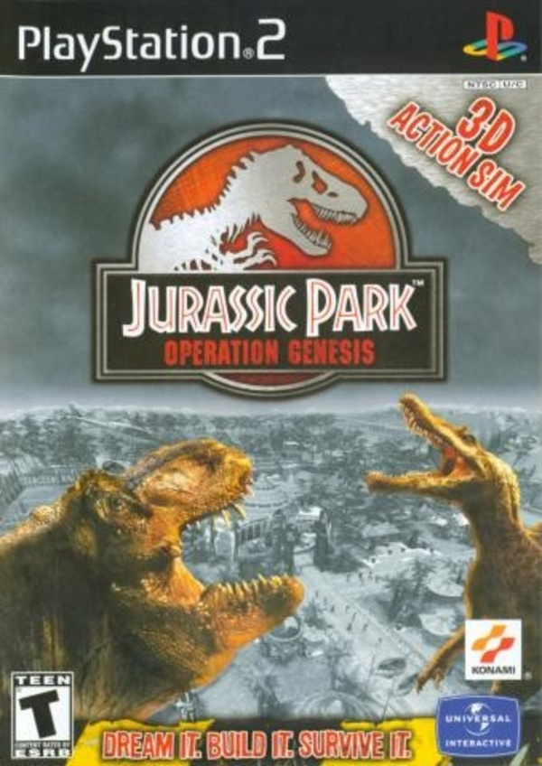Cover zu Jurassic Park: Operation Genesis