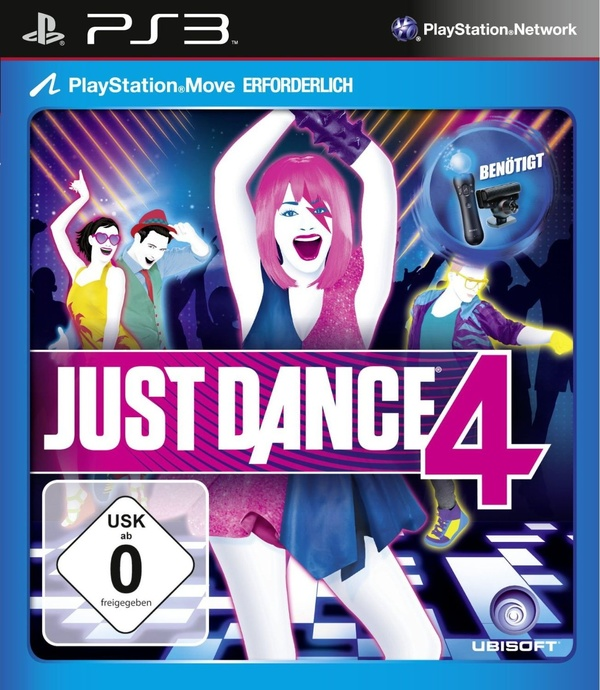 Cover zu Just Dance 4