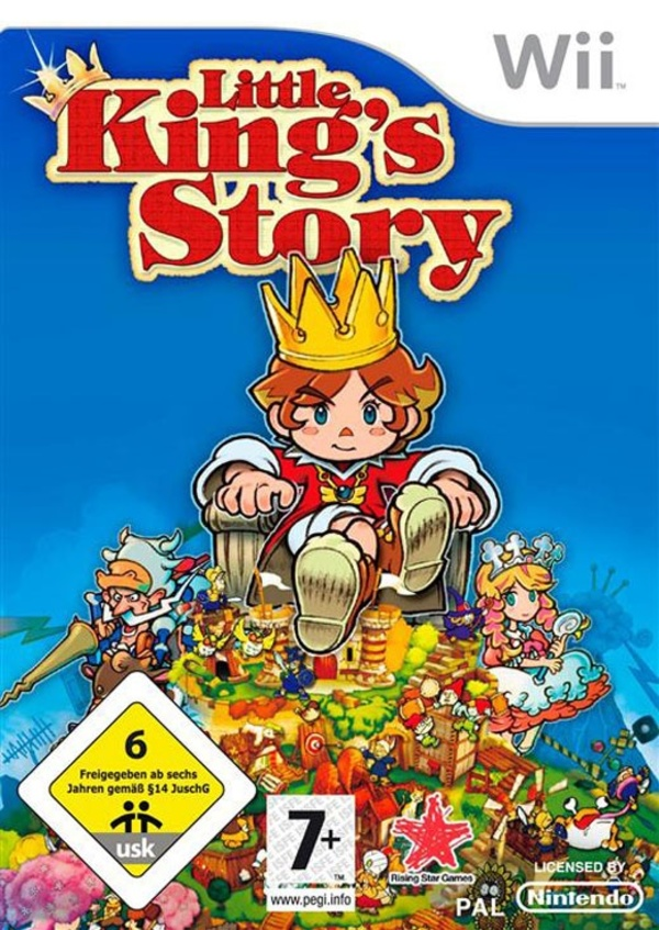 Cover zu Little King's Story
