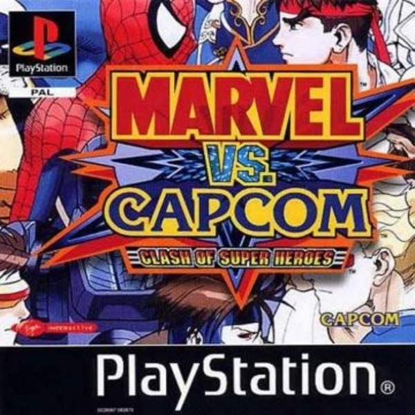 Cover zu Marvel vs. Capcom
