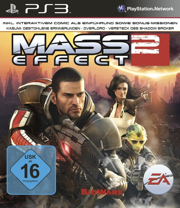 Cover zu Mass Effect 2