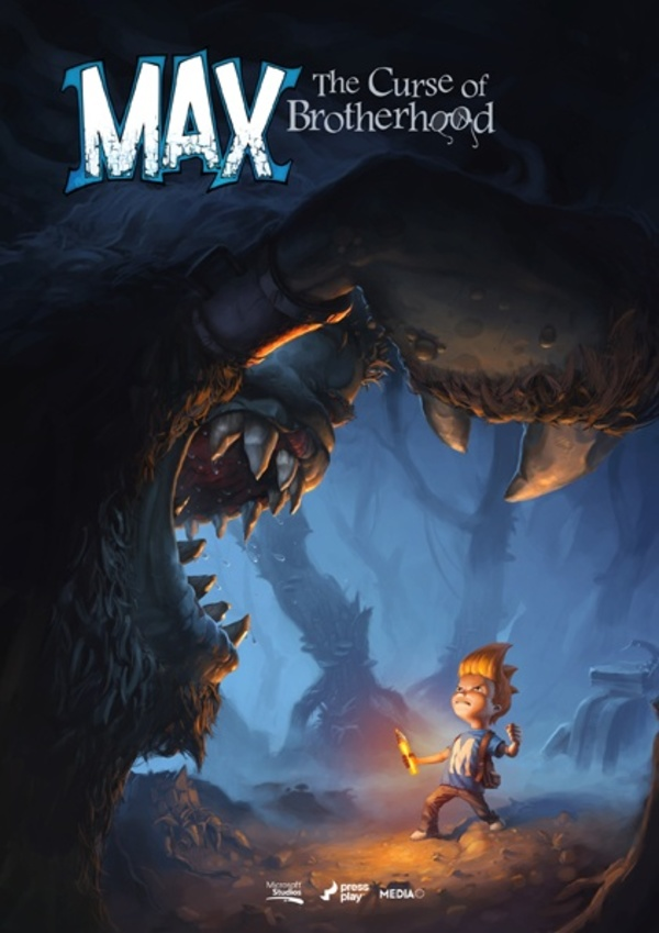 Cover zu Max: The Curse of Brotherhood