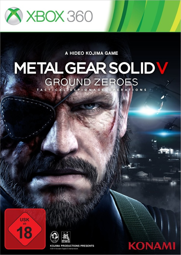 Cover zu Metal Gear Solid 5: Ground Zeroes