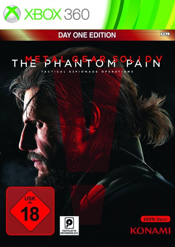Cover zu Metal Gear Solid 5: The Phantom Pain