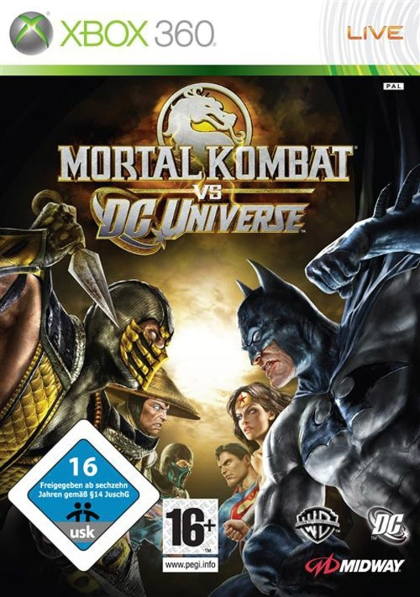 Cover zu Mortal Kombat vs. DC Universe